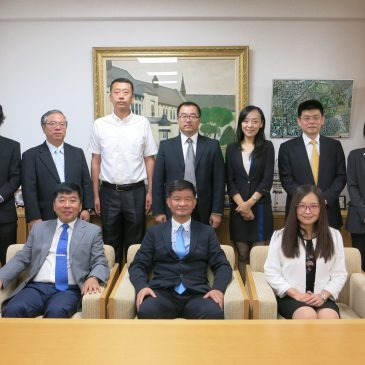 A Visit from Dalian University of Technology