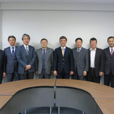 A Visit from Xiamen University