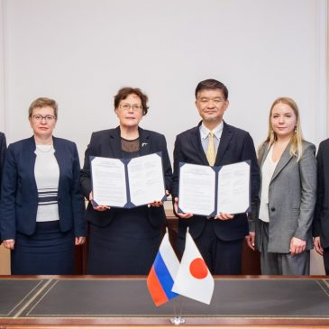 Signing ceremony with Saint Petersburg State University of Architecture and Civil Engineering (SPbGASU)