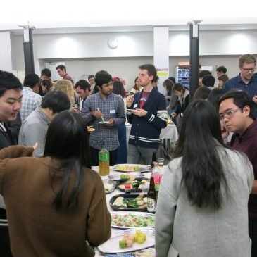 The Welcome Reception for Newly-enrolled Int'l Students