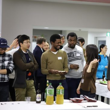 The Welcome Reception for Newly-enrolled Int'l Students 2018